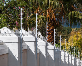 Secure Perimeter Fencing and Electric Gates